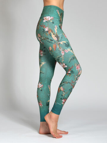 Secret Garden Leggings aus Komfort- Stretch mit Tasche
