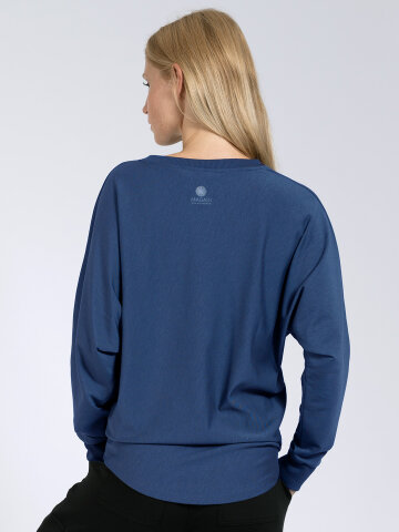 Sweater Anna Blue made of natural material