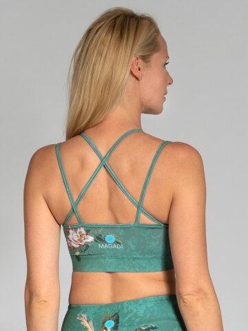 Secret Garden Sports Bra with crossed straps
