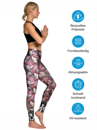Crane Leggings with comfort stretch and pocket