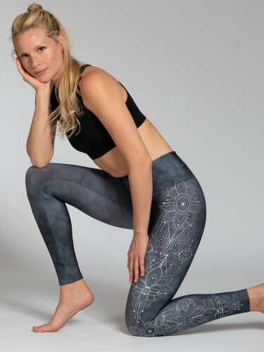 Symbols Leggings with comfort stretch and pocket
