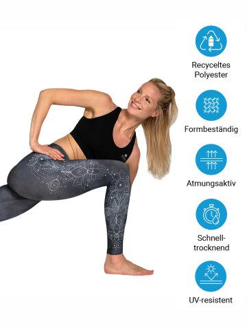 Yoga Leggings Symbols aus Komfort-Stretch XS