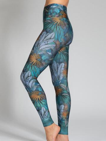 Yoga Leggings Amazonas aus Komfort-Stretch