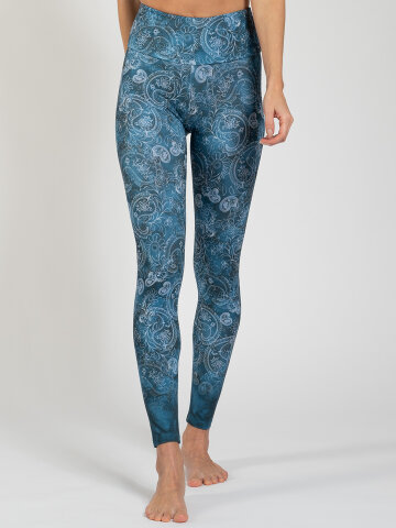 Arabeske Leggings made of comfort stretch and with pocket