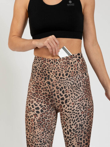 Go Wild Leggings made of comfort stretch and with pocket