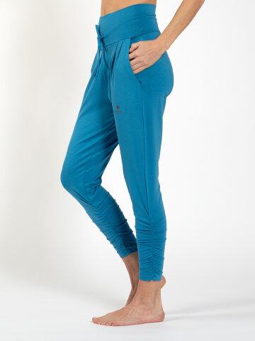 pantalon de yoga Francis Aqua en matière naturelle