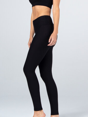 Marie Yoga Leggings Black