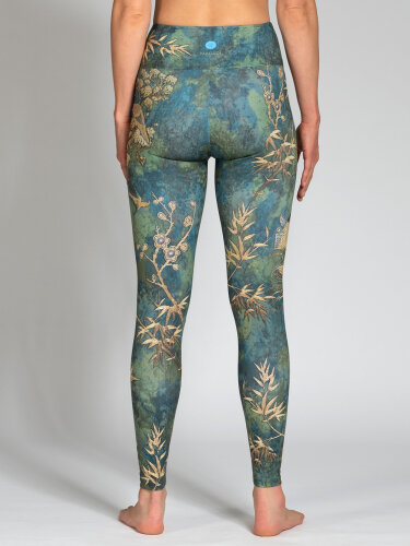 Camo Leggings with comfort stretch and pocket