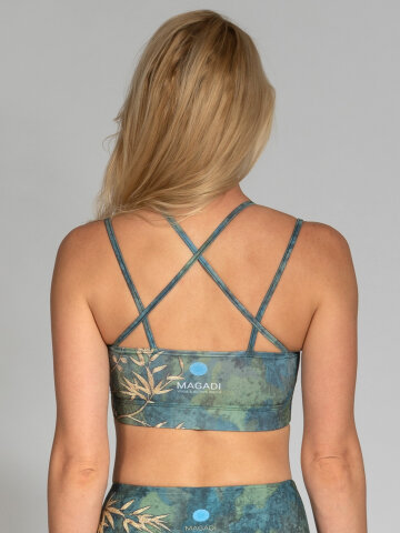 Sports Bra Camo with crossed straps