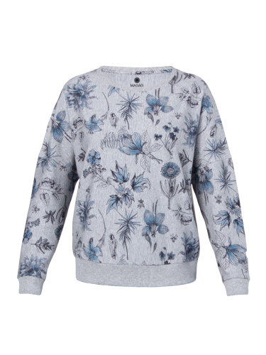 Sweater Sophia Floral aus weichem Naturmaterial