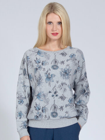 Sweater Sophia Floral aus weichem Naturmaterial