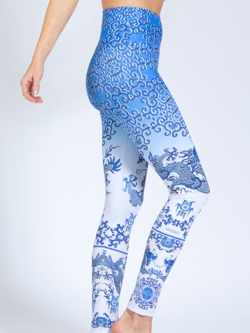 Silk Road printed Leggings