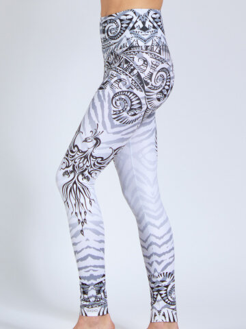 Phoenix printed Leggings