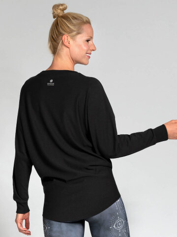 Sweater Anna Schwarz aus Naturmaterial