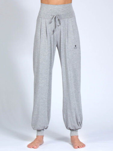 Yoga pants Florence Grey made of soft high-quality natural material