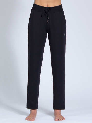 Yoga pants Mela Black made of soft, high-quality natural...