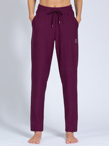 Yoga pants Mela Wine made of soft high-quality natural...